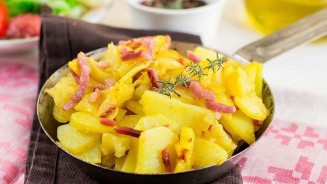 Receta de las mejores patatas al microondas