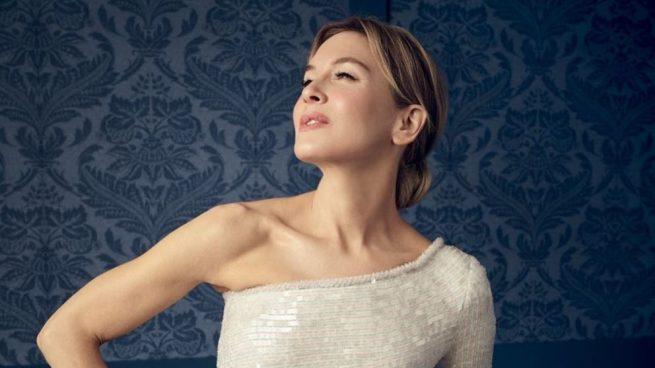 La ganadora del Oscar 2020 a la mejor interpretación femenina lució un recogido.