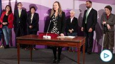Victoria Rossell jura el cargo como delegada del Gobierno contra la Violencia de Género el pasado 31 de enero