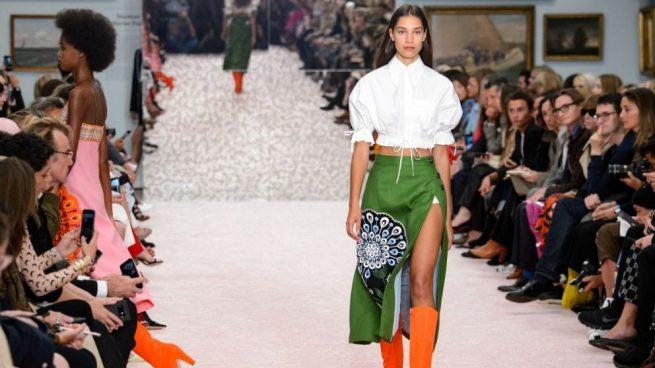 combinar faldas midi