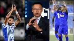 El Barcelona tiene 15 días para fichar a un delantero. (EFE/AFP)