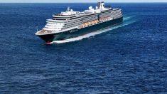 El crucero Westerdam, rechazado en varios puertos por miedo al coronavirus. (Ep)