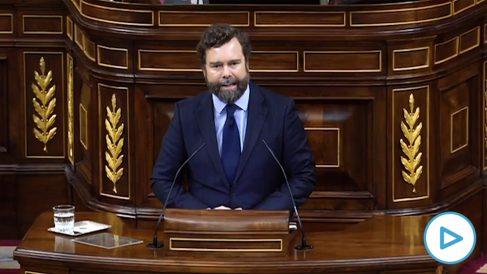 Iván Espinosa de los Monteros (Vox) a Podemos: «Un poco de pasta basta para ser parte de la casta».