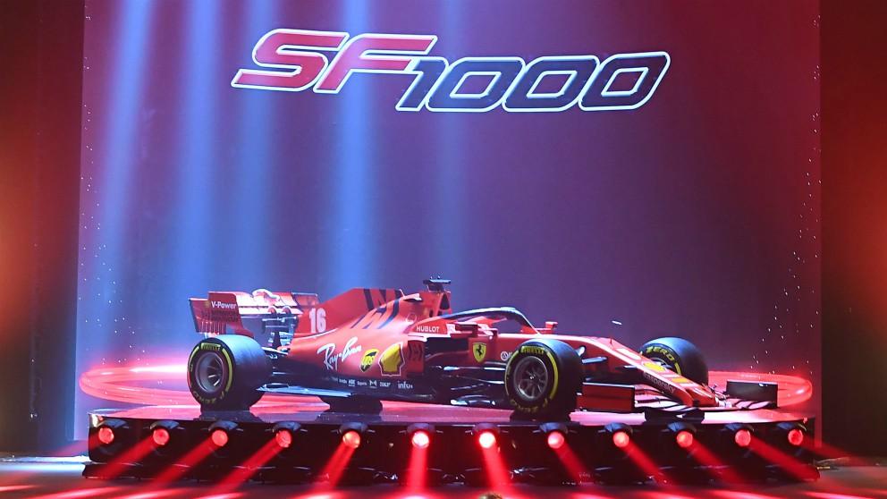 Ferrari presenta el SF1000 para la nueva temporada de Fórmula 1. (@ScuderiaFerrari)