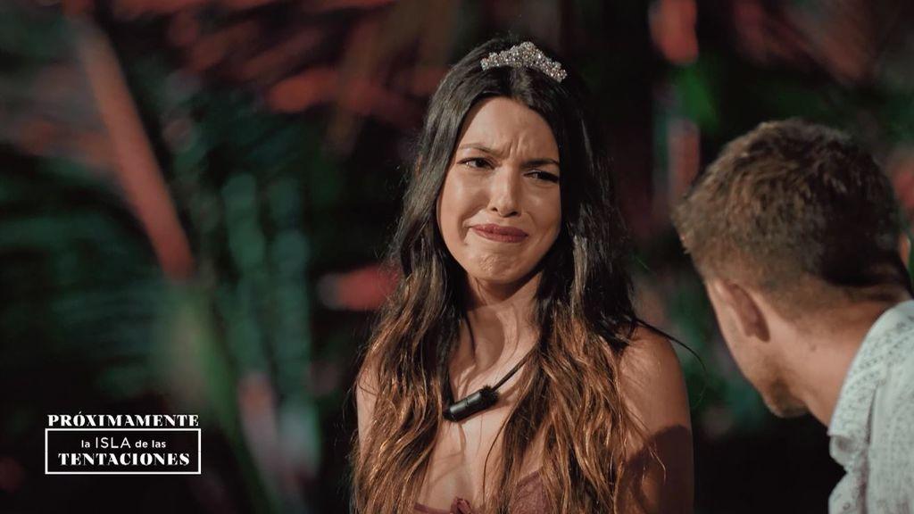 Andrea en la final de 'La isla de las tentaciones'