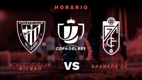 Copa del Rey 2019-2020: Athletic Club – Granada | Horario del partido de fútbol de Copa del Rey.