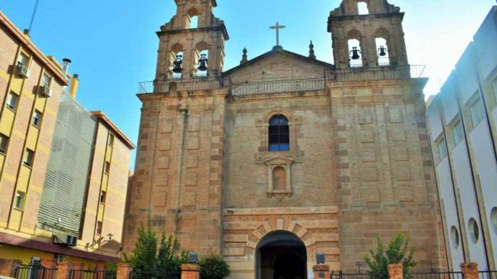 Iglesia en Málaga.