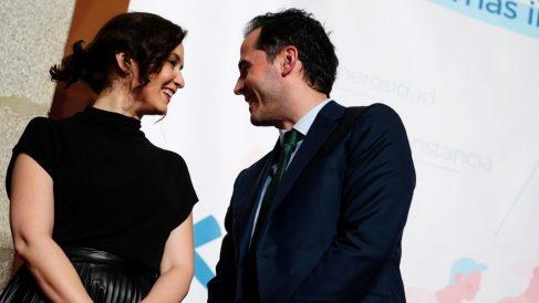 Isabel Díaz Ayuso e Ignacio Aguado. (Foto: Madrid)