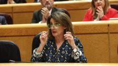 La ministra Teresa Ribera. (Foto: PSOE)