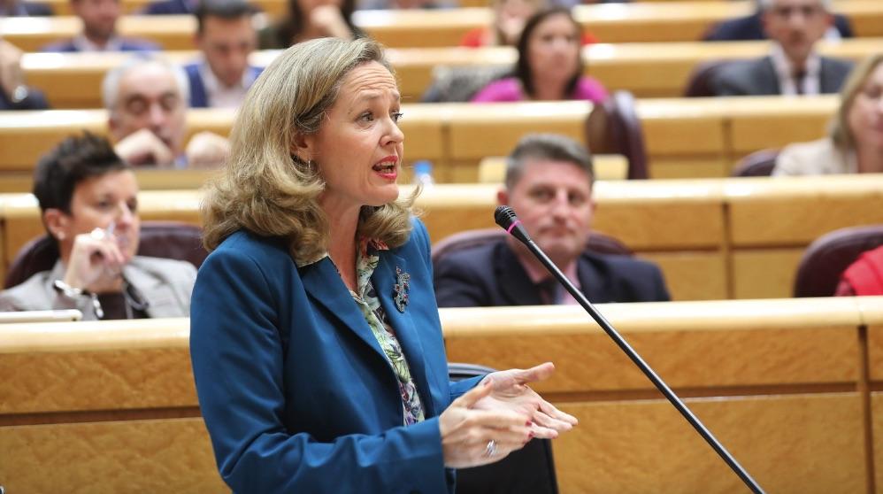 Nadia Calviño, ministra de Economía. (Foto: PSOE)