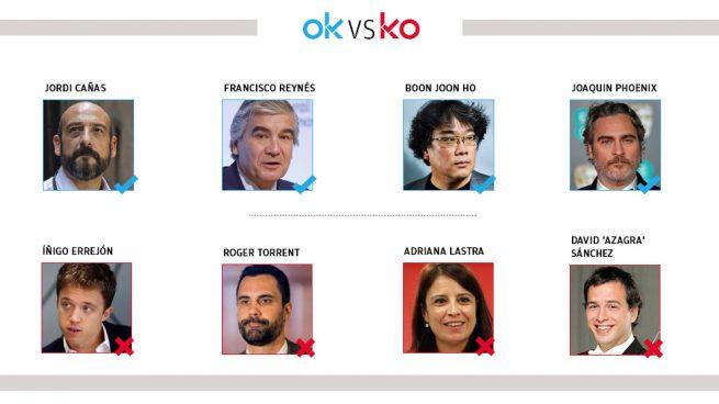Los OK y KO del martes, 11 de febrero