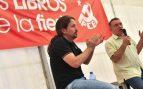 Pablo Iglesias y Enrique Santiago. (Foto. PCE)