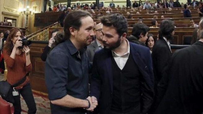 Iglesias esconde en su agenda oficial la reunión con ERC y Bildu en su despacho de vicepresidencia