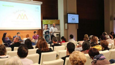 Presentación del programa de colaboración entre el Ayuntamiento y Mundubat. (Foto. Madrid)