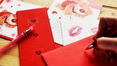 Las cartas de amor son un clásico para mostrar tus sentimientos a tu pareja