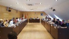 Pleno del Ayuntamiento de Arganda del Rey.