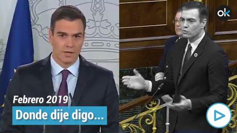 Pedro Sánchez reconoció en febrero del año pasado a Juan Guaidó como presidente encargado de Venezuela pero ahora le tilda de «jefe de la oposición» en el país latinoamericano.