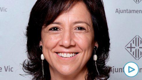 Anna Erra, alcaldesa de Vic y diputada en el Parlament por JxCat. Foto: Ayuntamiento de Vic