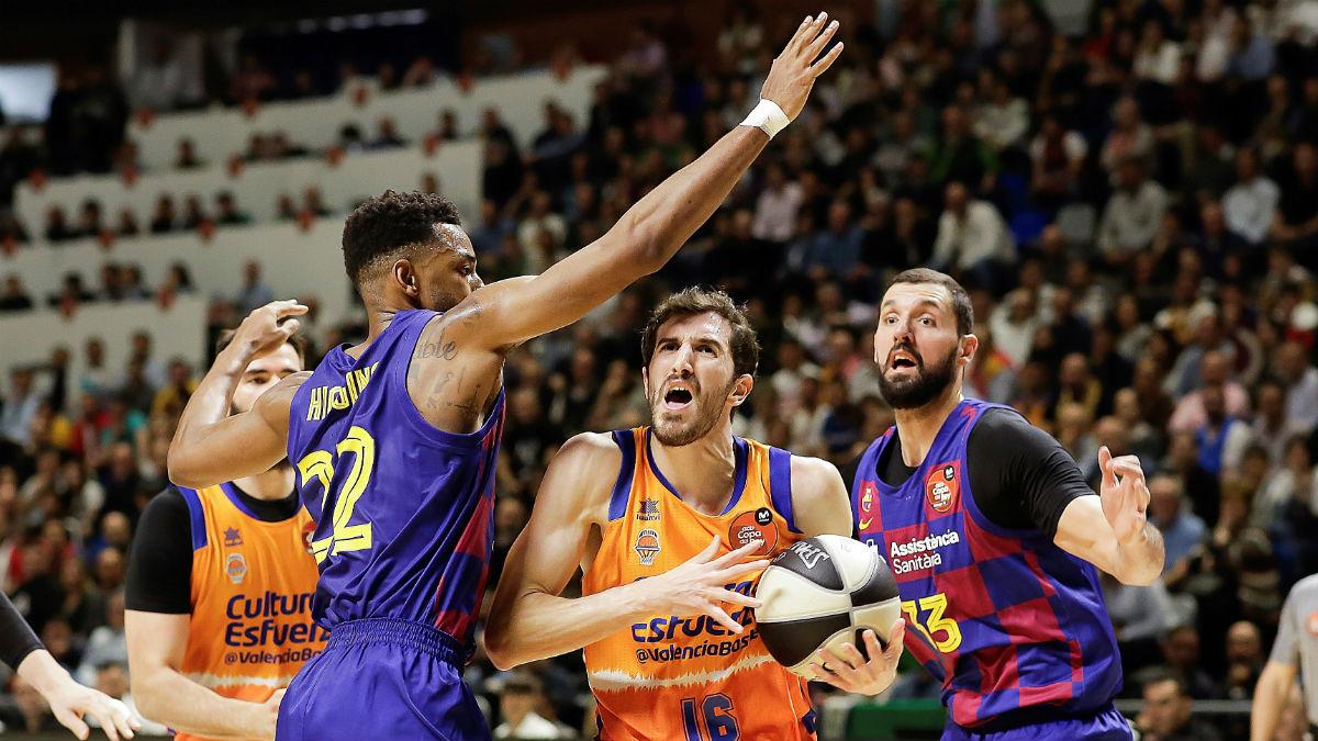 Barcelona Lassa – Valencia Basket: Partido de Copa del Rey de baloncesto, en directo