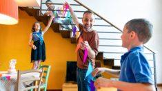 Descubre cómo hacer guirnaldas de carnaval con los niños