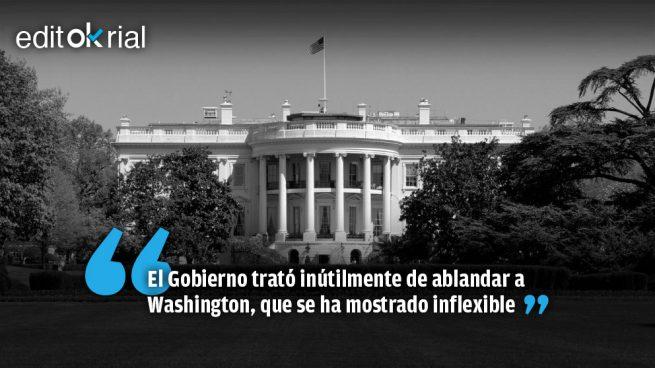Trump pone firme a Sánchez