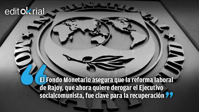 Recadito del FMI al Gobierno