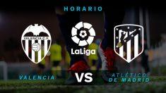 Liga Santander: Valencia – Atlético de Madrid | Horario del partido de fútbol de Liga Santander.