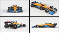 Así es el nuevo McLaren MCL35 que pilotará Carlos Sainz esta temporada. (McLaren)