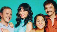 Miren Ibarguren, Pepa Rús, Óscar de la Fuente y Juanan Lumbreras protagonizan 'Me gusta como eres' en el Teatro Lara de Madrid.