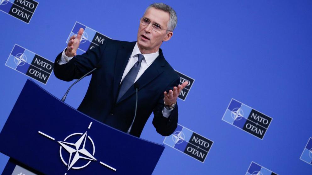 El secretario general de la Organización del Tratado del Atlántico Norte (OTAN), Jens Stoltenberg. Foto: AFP