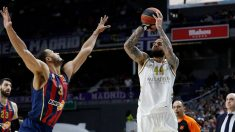 El Real Madrid contra el Baskonia. (Real Madrid)