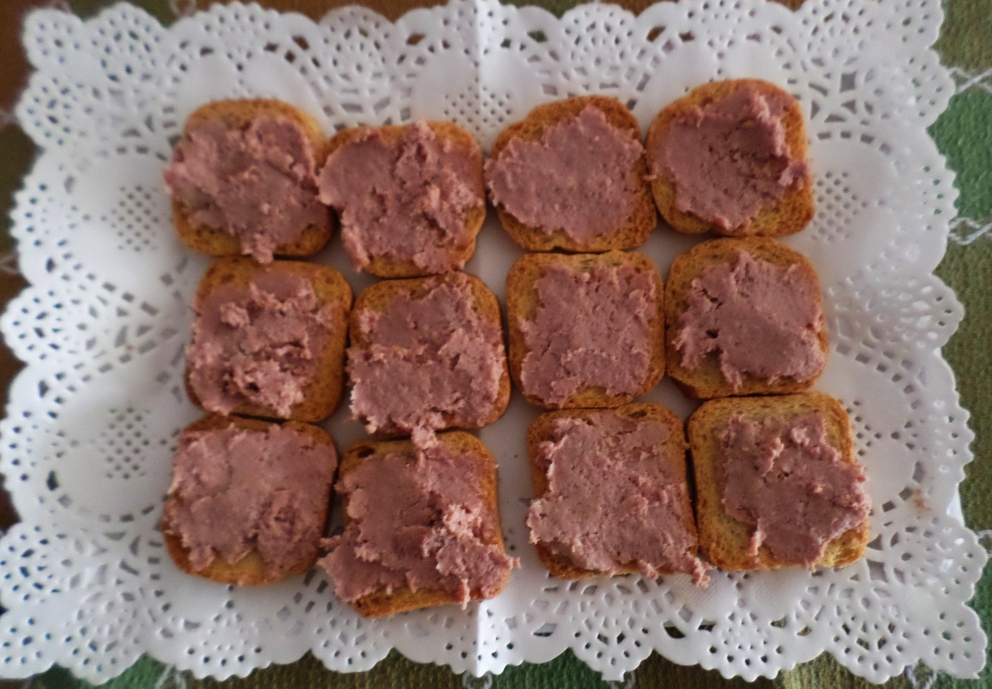 Receta de paté de berberechos