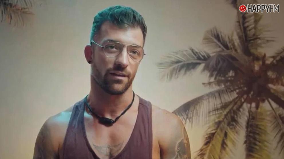Rubén en 'La isla de las tentaciones'