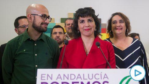 La coordinadora de Podemos Andalucía y portavoz de Adelante Andalucía, Teresa Rodríguez. (Foto: Europa Press)