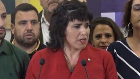 Teresa Rodríguez anunciado que deja Podemos.
