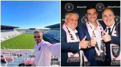 David Beckham, directiva y entrenador del Inter Miami. (@davidbeckham – Getty)