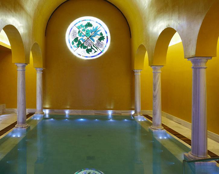 Sala de las columnas.