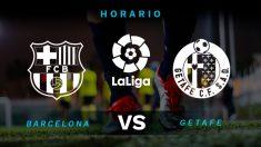 Barcelona – Getafe: jornada 24 de la Liga Santander
