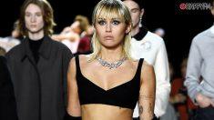 Miley Cyrus debuta en una pasarela