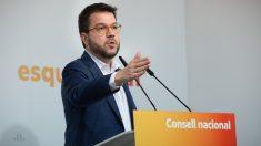 El vicepresidente de la Generalitat, Pere Aragonès. Foto: EP