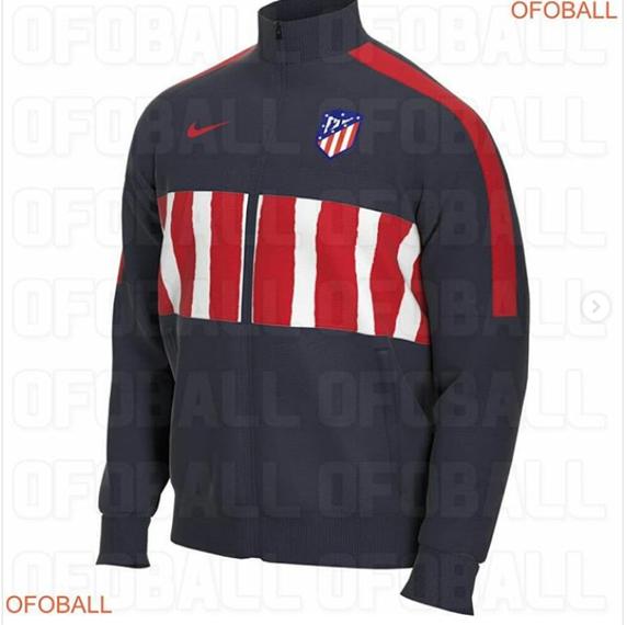Posible sudadera de entrenamiento del Atlético de Madrid para la temporada 2020-2021