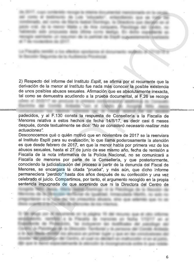 La Fiscalía desenmascara a Oltra: desvela que ocultó pruebas del abuso de su marido a una menor