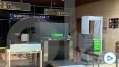 Filtro de seguridad fronterizo en la Terminal Ejecutiva de Barajas