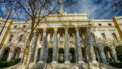 Fachada de la Bolsa de Madrid – Ibex 35