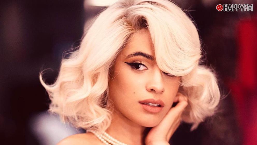 Camila Cabello como Marilyn Monroe
