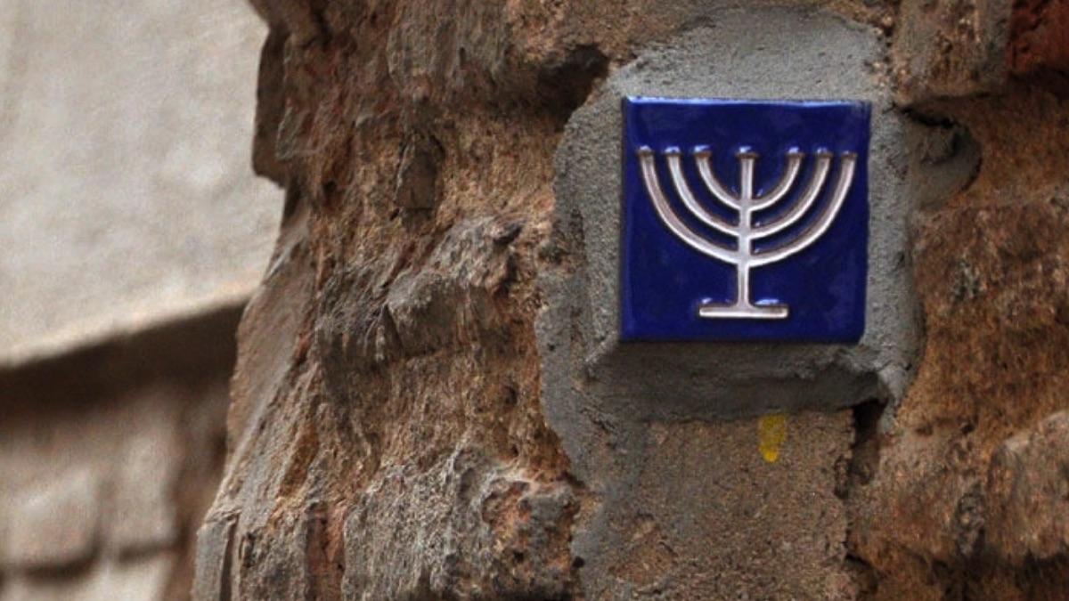 Detalle de la tradición judía.