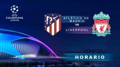 Atlético de Madrid – Liverpool: octavos de final de la Champions League.