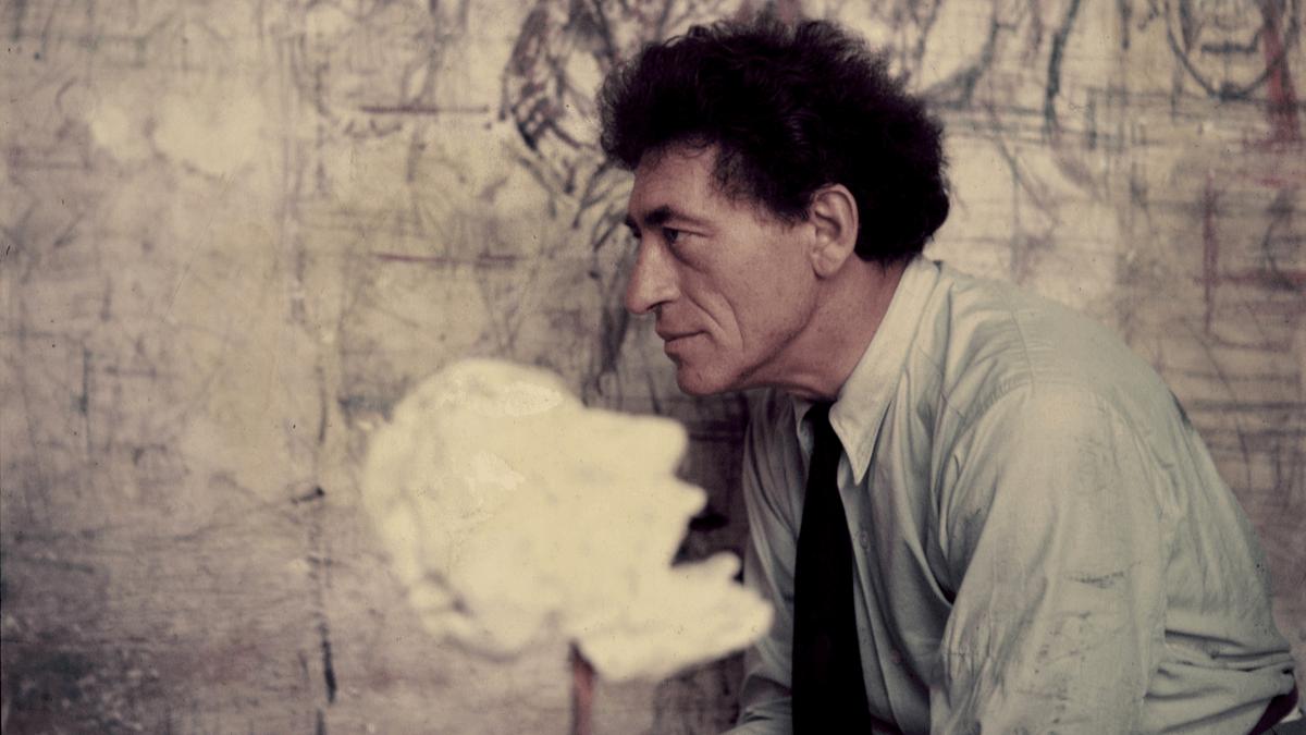 Giacometti en su taller parisino en 1952 @Getty