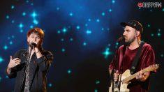 Nil Moliner y Dani Fernández cantando en 'OT 2020'