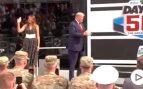 Trump y su baño de masas en las 500 millas de Daytona: Air Force One y carrera inaugural en 'La bestia'